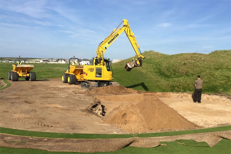 Ballybunion golf course changes